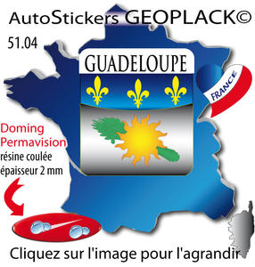 Dom Tom Guadeloupe 43x48x2mm 51.04