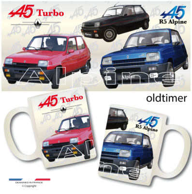 Boutique CLUB RENAULT 5 ALPINE tasse mug