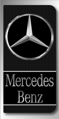 MERCEDES BENZ STICKER plaque d'immatriculation 1806-33-A