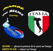 ITALIE botte sticker forme Ecu 1719-15